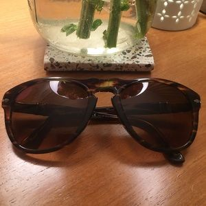 Designer Havana Polarized Sunglasses